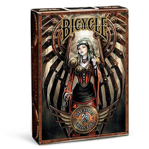 Steampunk Poker Deck Anne Stokes