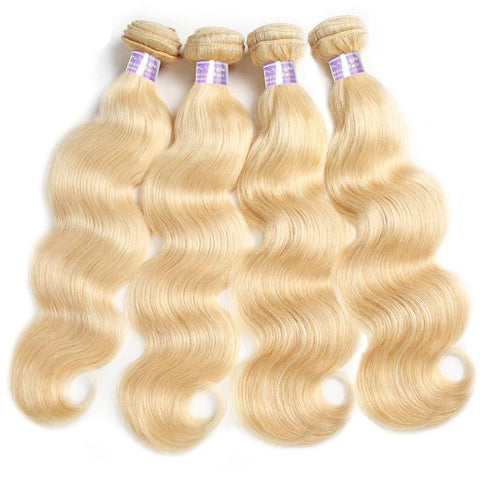 "Brazilian Blonde 613""  Body Wave"