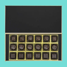 Load image into Gallery viewer, printed wooden box of chocolates - ChocoManualART.com
