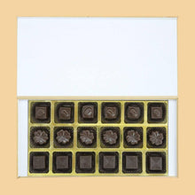 Load image into Gallery viewer, photo printed box of customised chocolates on 40th anniversary