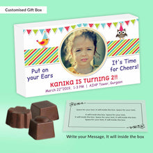Load image into Gallery viewer, Put on your ears, it's time for cheers customised birthday invitation