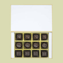 Load image into Gallery viewer, Vibrant colored box of customised chocolates return gift