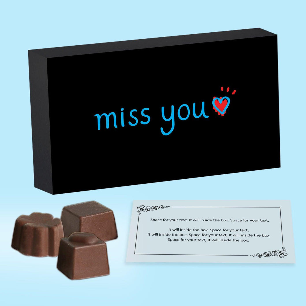 Gift chocolates to someone special & say Miss you
