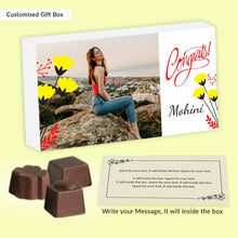 Load image into Gallery viewer, Buy Best Personalised Chocolate to say Congratulations