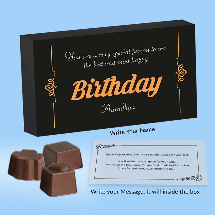 Customised Chocolates for all occasions - ChocoManualART.com