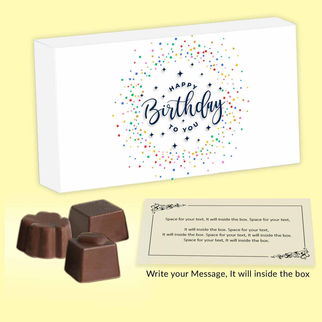 customized chocolates with meaningful message inside the box - ChocoManualART.com