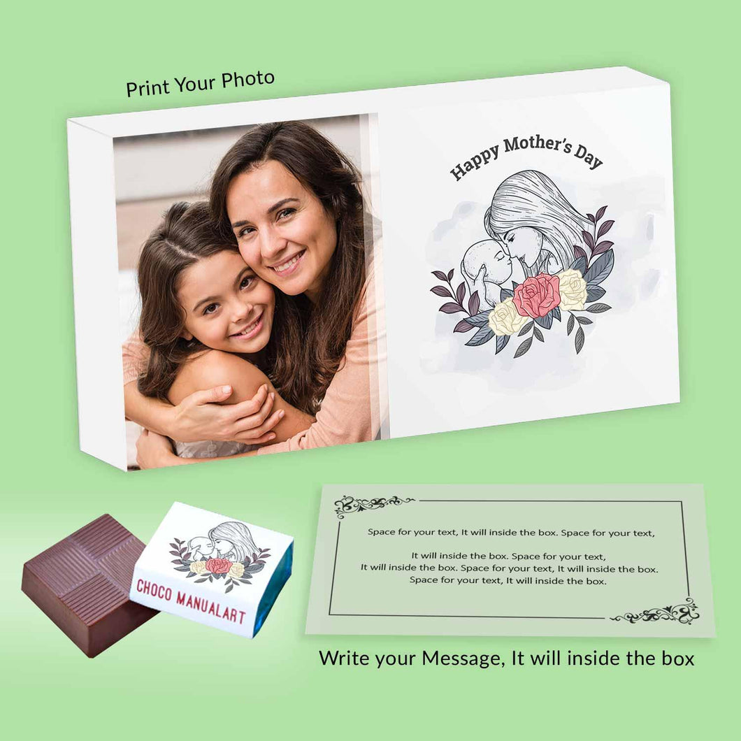 Mom-baby Creative design Print Chocolate wrappers