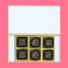 Load image into Gallery viewer, customised chocolates with a romantic message