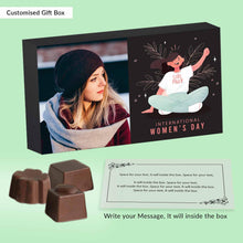 "Load image into Gallery viewer, International women's Day ""Girl Power"" chocolates gift"