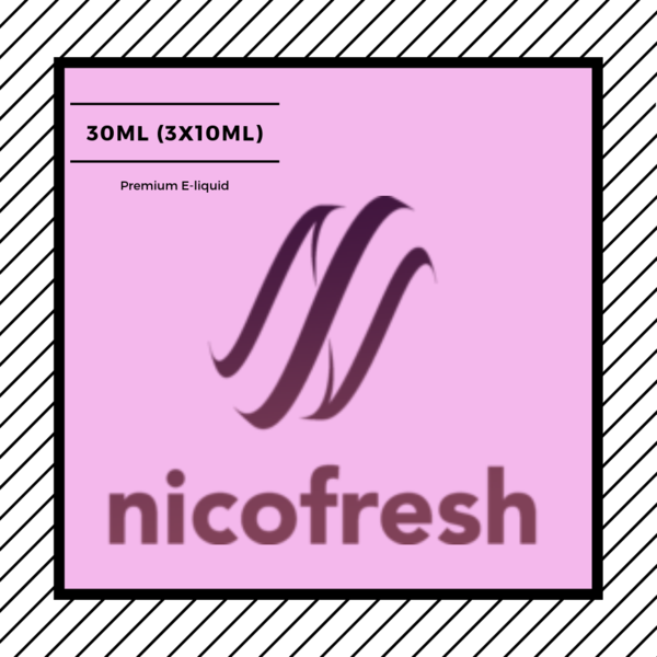 Nicofresh 30ml (3x10ml) e-liquid
