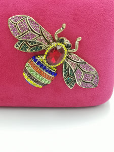 Clutch Joya Mini Balí Fucsia