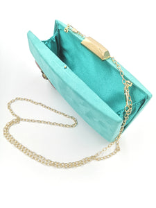 Clutch Joya Mini Balí Verde
