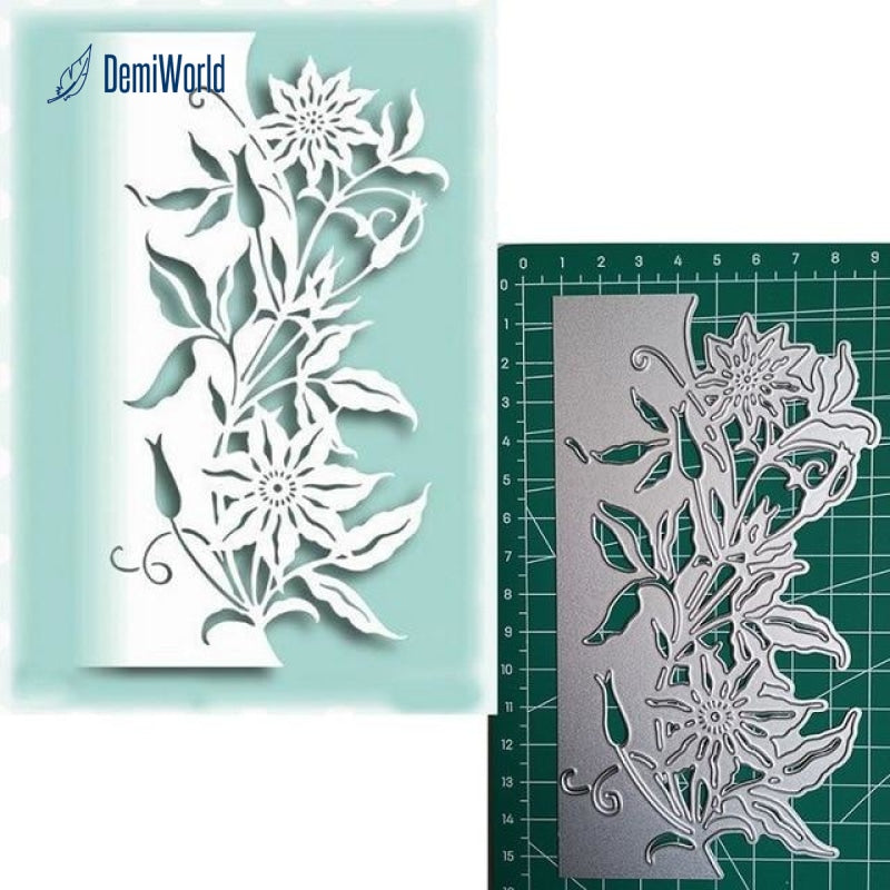 Beautiful Flower Pattern Metal Cutting Dies New 2019 For Card Making Scrapbookin