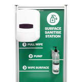 1Guard Surface Sanitiser Dispenser Station