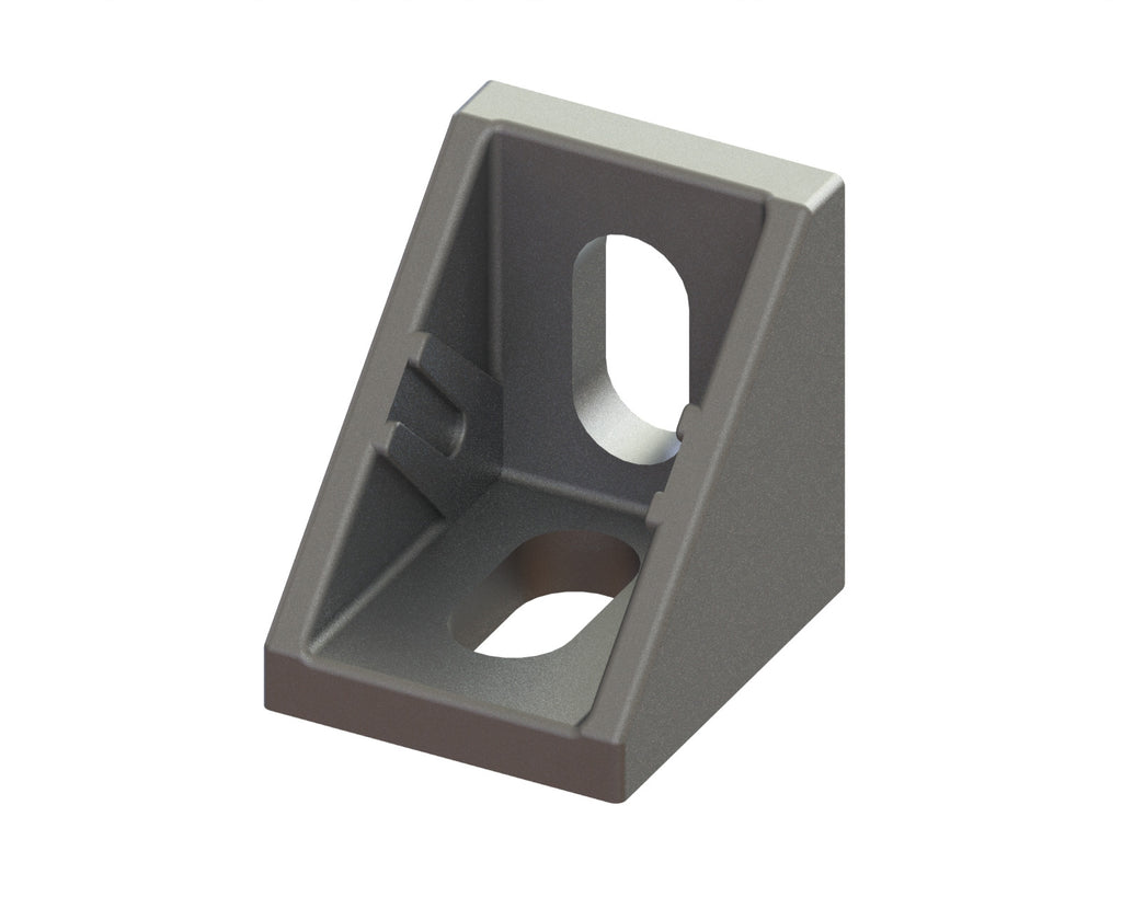 2 Series Angle Bracket for 20mm Extrusion-Die Cast Zinc - Accessories - OnEquip