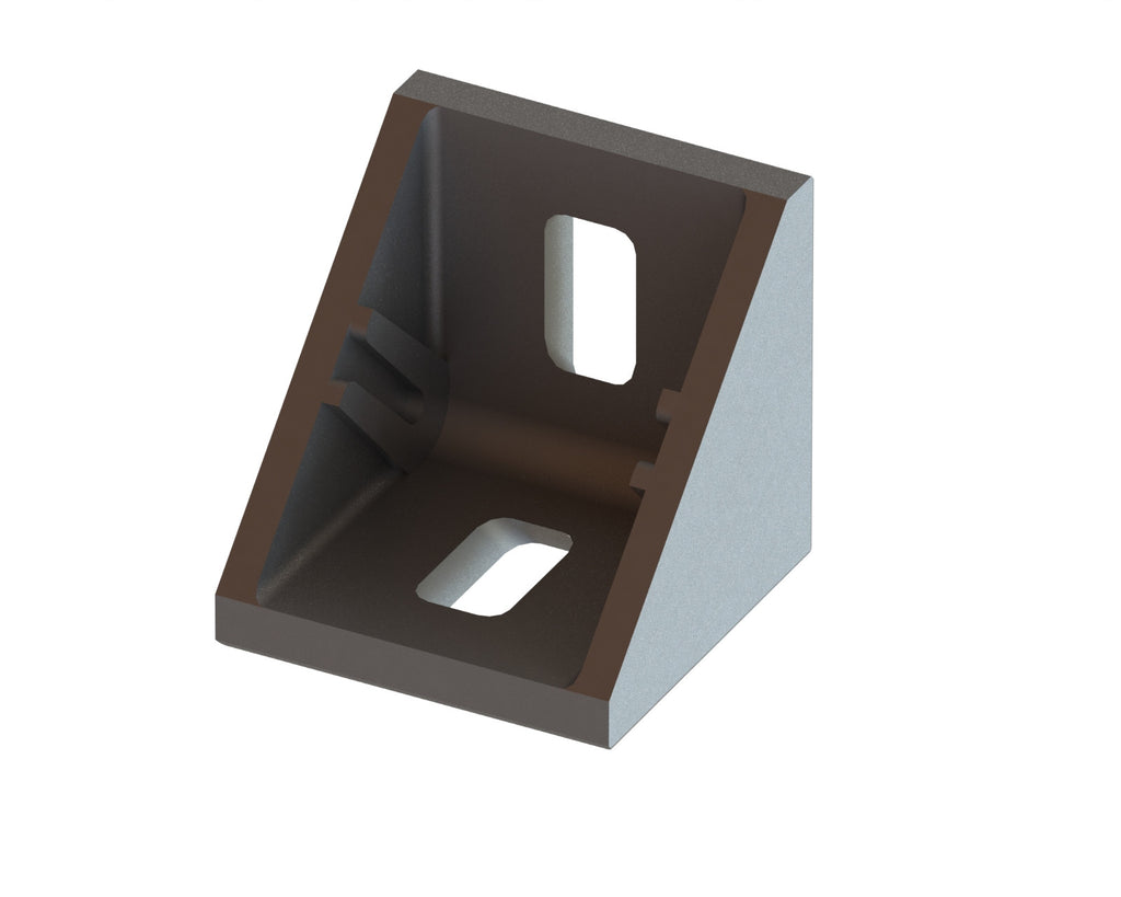 3 Series Angle Bracket for 30mm Extrusion-Die Cast Zinc - Accessories - OnEquip