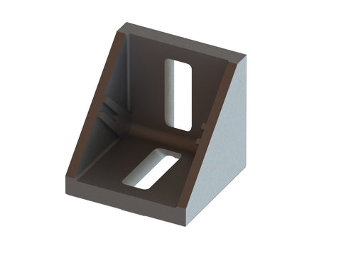 4 Series Angle Bracket for 40mm Extrusion - Die Cast Zinc - Accessories - OnEquip
