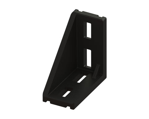4 Series Angle Bracket for 40 x 80mm Extrusion-Die Cast Zinc - Accessories - OnEquip