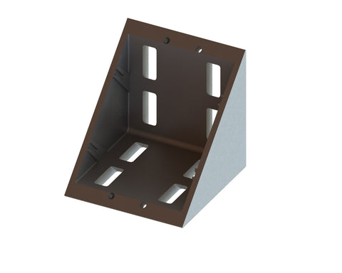 4 Series Angle Bracket for 80mm Extrusion-Die Cast Zinc - Accessories - OnEquip