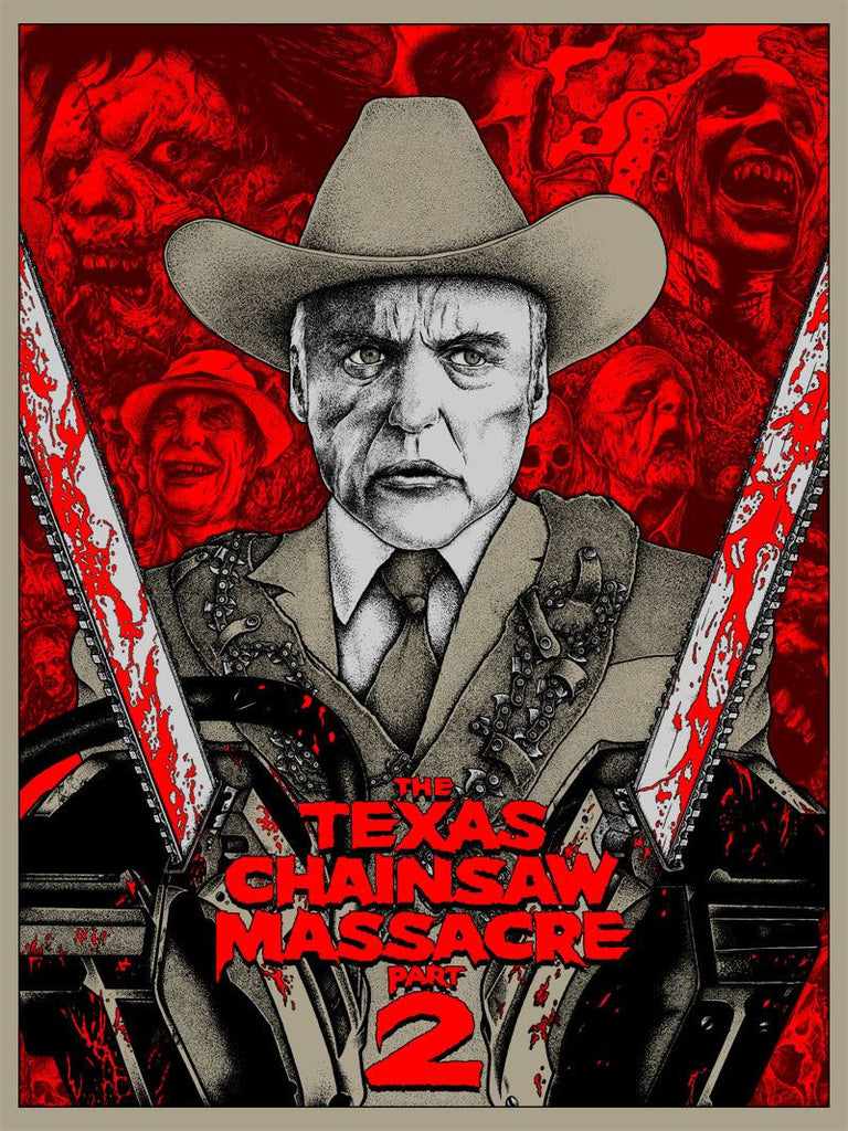 """Texas Chainsaw Massacre 2"" by Alexandros Pyromallis - Hero Complex Gallery"