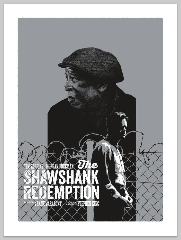 """The Shawshank Redemption"" Variant by Andrew Swainson - Hero Complex Gallery"