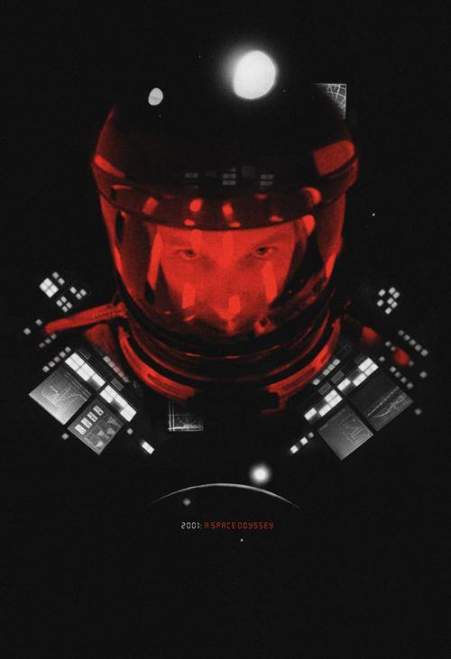 """2001: A Space Odyssey"" by Adam Juresko - Hero Complex Gallery"