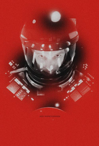 """2001: A Space Odyssey"" Variant by Adam Juresko - Hero Complex Gallery"