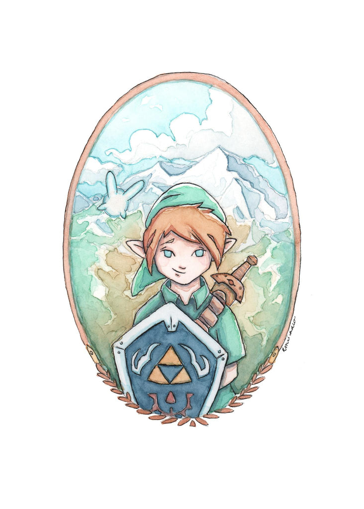 """Lil' Link"" by Kendra Minadeo 