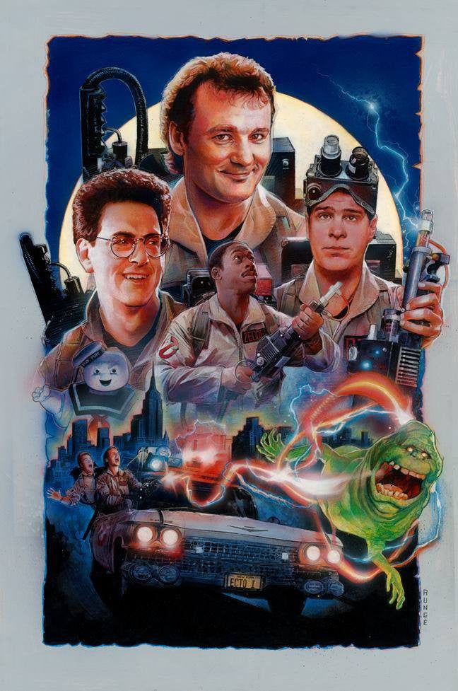 """Who ya gonna call?"" by Nick Runge - Hero Complex Gallery"
