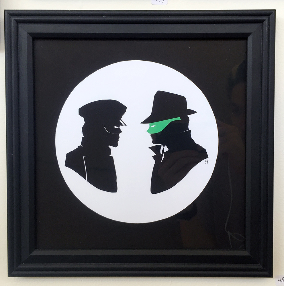 458. Green Hornet and Kato Set by Jordan Monsell - Hero Complex Gallery