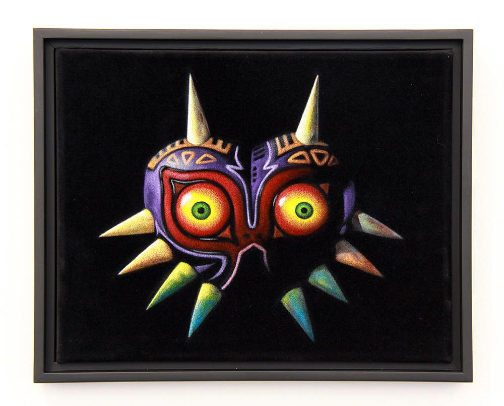"""Majora's Mask"" by Bruce White - Hero Complex Gallery"