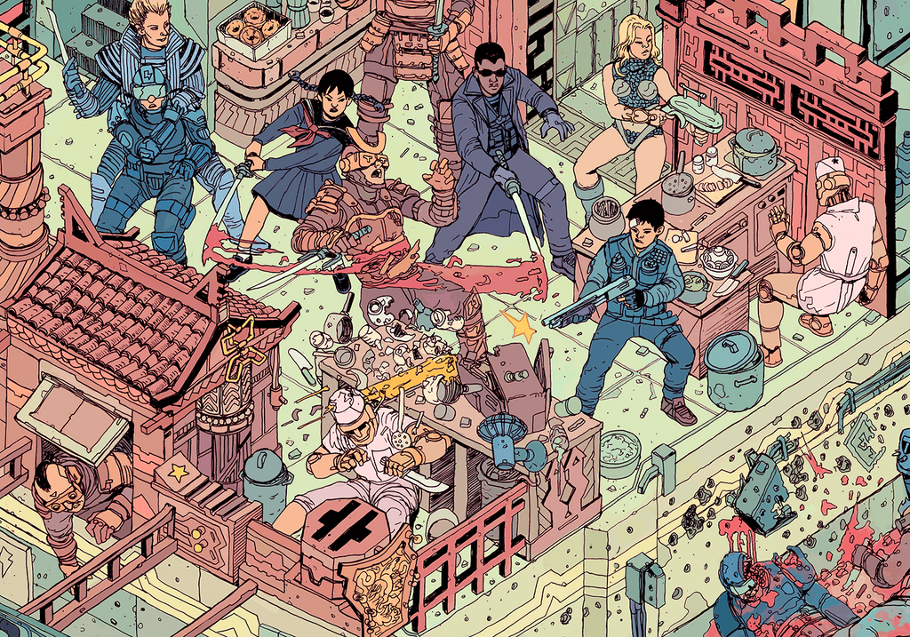 """The Raid"" by Josan Gonzalez & Laurie Greasley - Hero Complex Gallery  - 4"