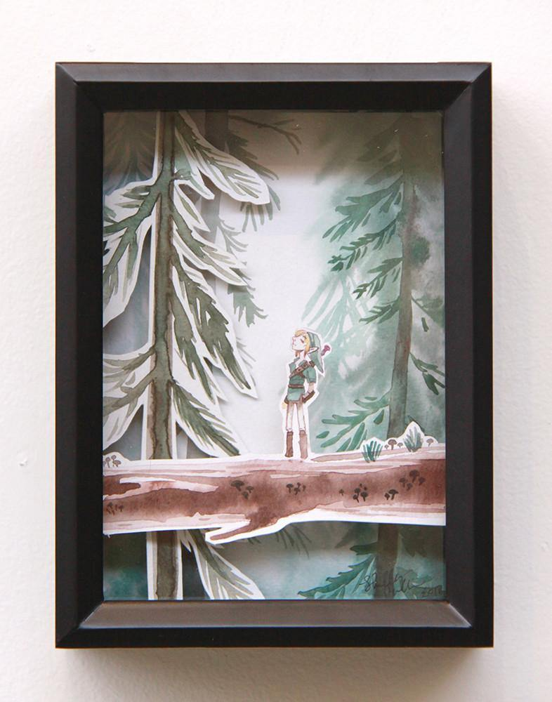 """Solace"" Original by Shelley Couvillion - Hero Complex Gallery"