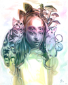 """How Long Is Forever"" Original by Alex Garant - Hero Complex Gallery"