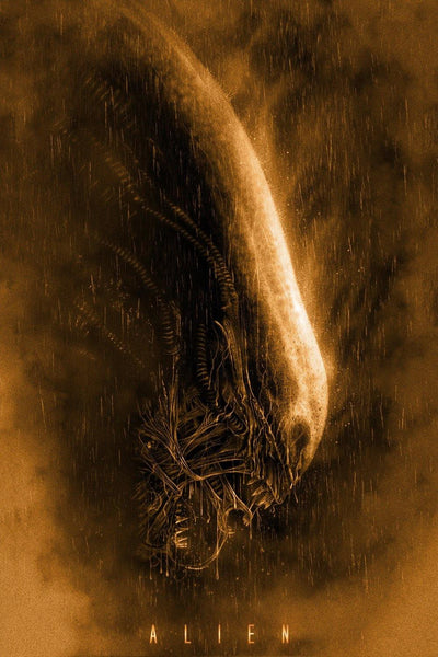 """Alien"" Warm by Casey Callender - Hero Complex Gallery"