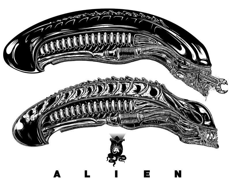 """ALIEN(S)"" by Beery - Hero Complex Gallery  - 1"