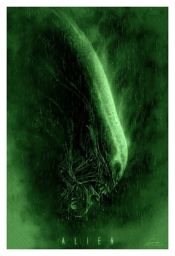 """Alien"" Green Variant by Casey Callender"