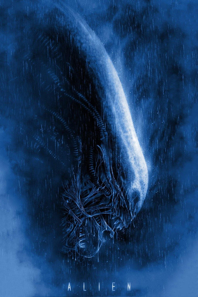 """Alien"" Blue by Casey Callender - Hero Complex Gallery"