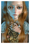 """Inner Magic"" Original by Ania Tomicka - Hero Complex Gallery"