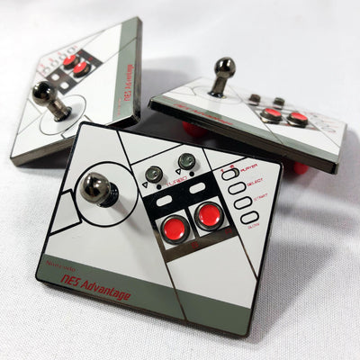 "294. ""Advantage!"" 3D Joystick Pin by BB-CRE.8"