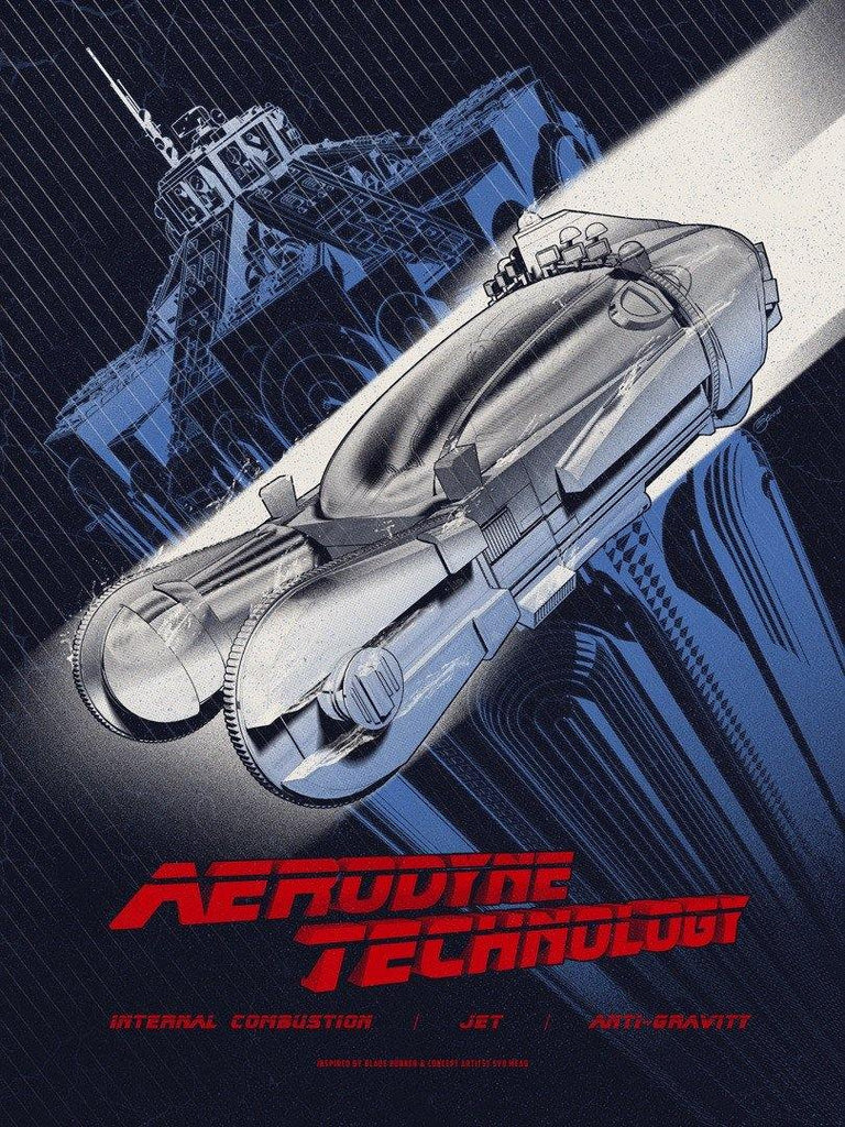 """Aerodyne Technology"" by Chris Skinner - Hero Complex Gallery  - 1"