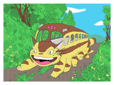"""Nekobasu Destination: Happiness"" AP by Alice Lin - Hero Complex Gallery  - 2"