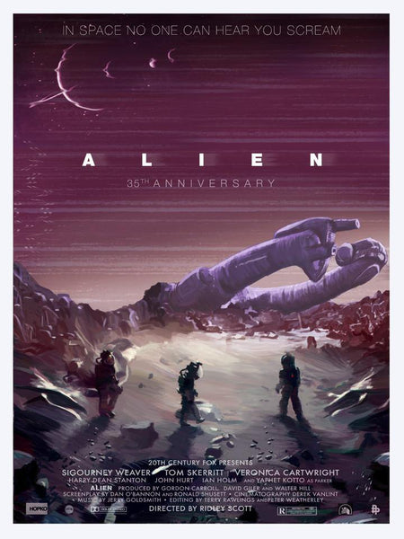 """Alien 35th Anniversary"" Medium by Scott Hopko - Hero Complex Gallery"