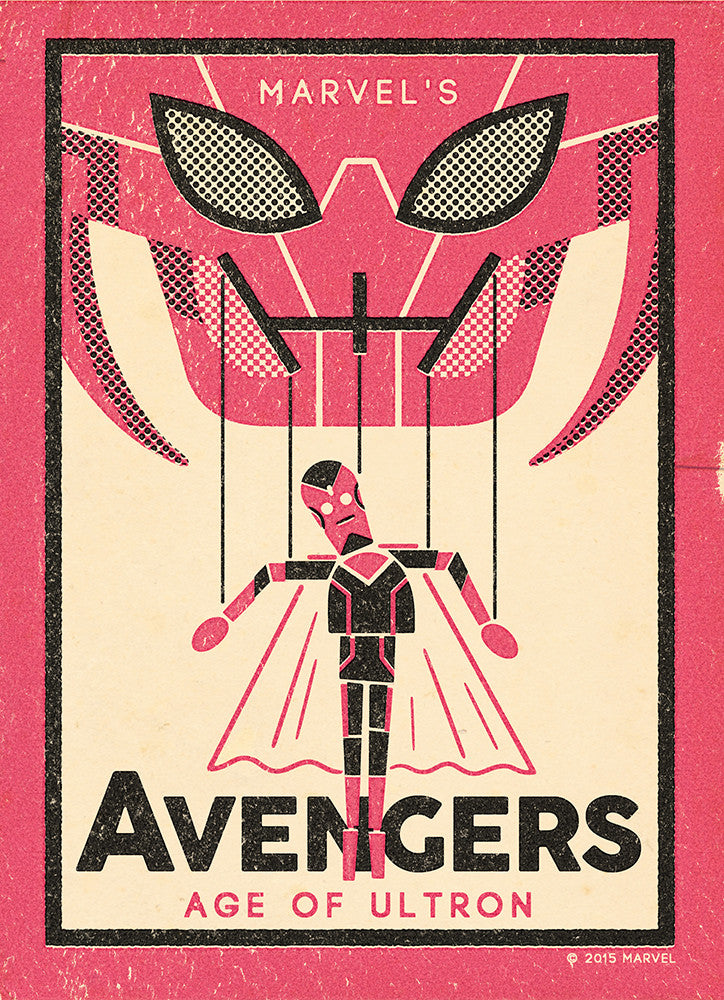 """The Avengers: Vision"" by Andrew Kolb - Hero Complex Gallery"