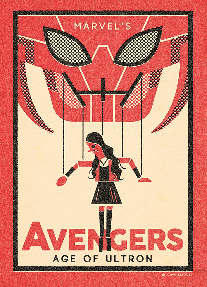 """The Avengers: Scarlet"" by Andrew Kolb - Hero Complex Gallery"