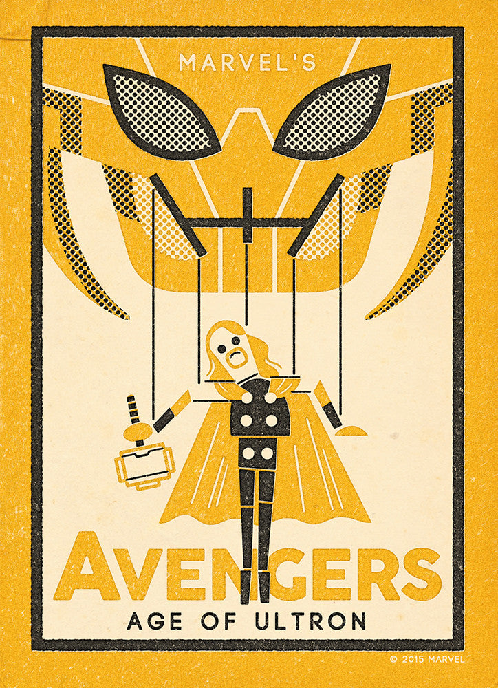"""The Avengers: Thor"" by Andrew Kolb - Hero Complex Gallery"