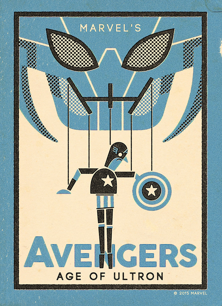 """The Avengers: Captain America"" by Andrew Kolb - Hero Complex Gallery"