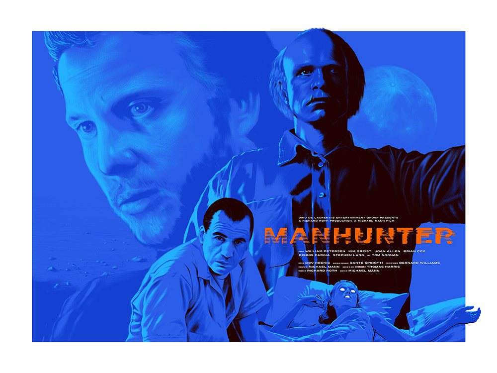 """Manhunter"" by Andrew Swainson - Hero Complex Gallery"