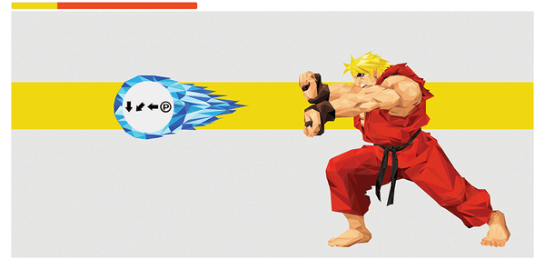 """Hadouken! - Ken"" by Andy Duke - Hero Complex Gallery"