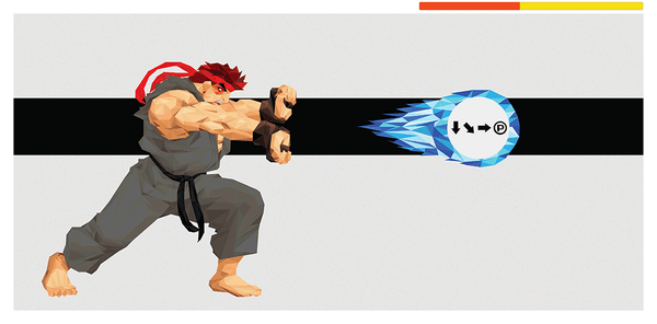 """Hadouken! - Ryu"" Dark Variant by Andy Duke - Hero Complex Gallery"